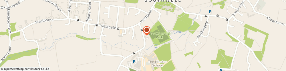 Route/map/directions to Stagecoach Performing Arts Schools Southwell, NG25 0LG Southwell, Nottingham Road