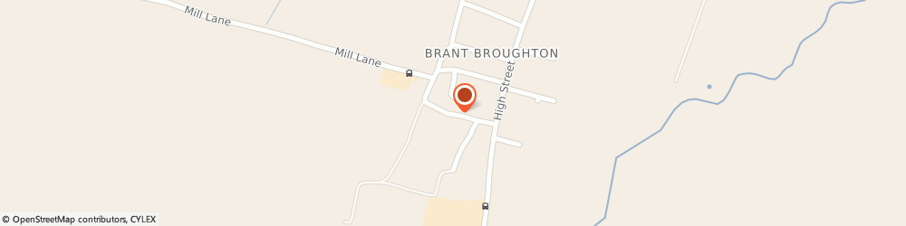 Route/map/directions to Doors & Windows For Life, LN5 0SW Lincoln, 16 Church Lane, Brant Broughton