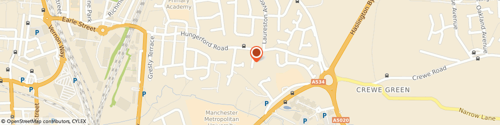 Route/map/directions to Quill Power Communications Ltd, CW1 6HE Crewe, 12 Woodland Avenue