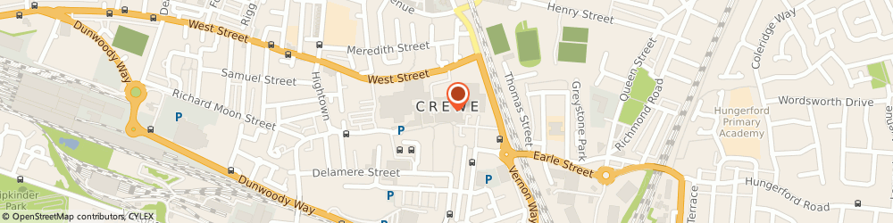 Route/map/directions to Clarks Crewe, CW1 2NG Crewe, Unit 3, Market Centre
