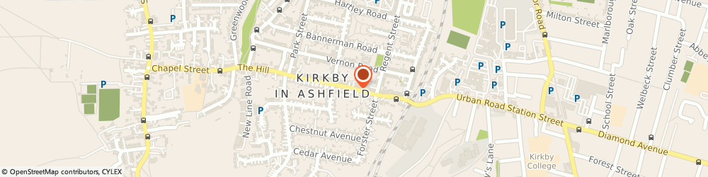 Route/map/directions to need to insure, NG17 8AS Kirkby-In-Ashfield, 90A Victoria Road