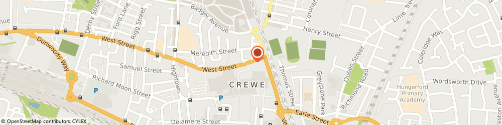 Route/map/directions to Home Aids Services Crewe, CW1 3HA Crewe, 16 West Street