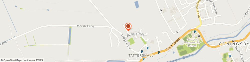 Route/map/directions to Dave's Mobility, LN4 4LN Lincoln, 12 Fortescue Close, Tattershall