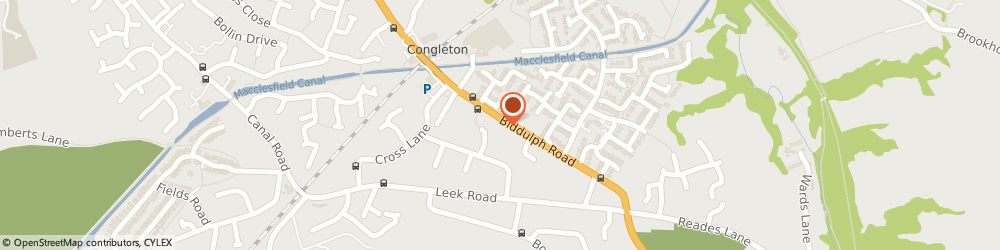 Route/map/directions to Bargain Booze Plus, CW12 3LG Congleton, 46 Biddulph Road