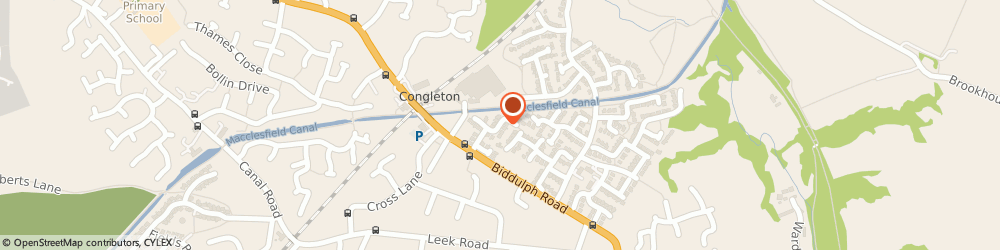 Route/map/directions to Krw Co-Ordination Services Limited, CW12 3TH Congleton, 8 FENTON CLOSE