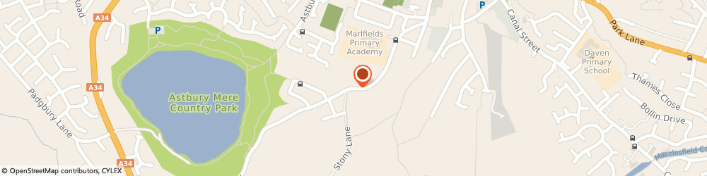 Route/map/directions to Marlfields County Primary School, CW12 4BT Congleton, WAGGS ROAD