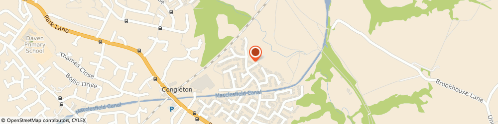 Route/map/directions to HOME TUITION LIMITED, CW12 3TY Congleton, 73 HENSHALL HALL DRIVE