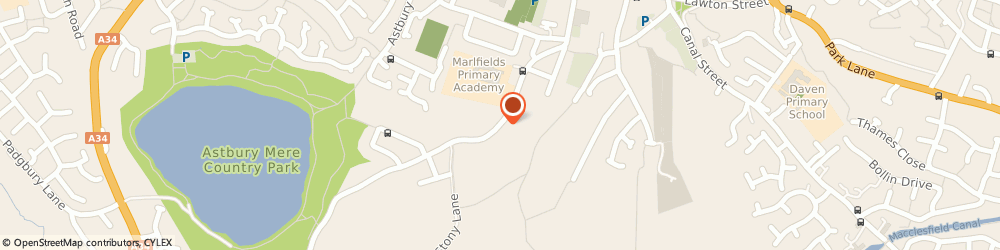 Route/map/directions to Marlfields Primary Academy, CW12 4BT Congleton, Waggs Road