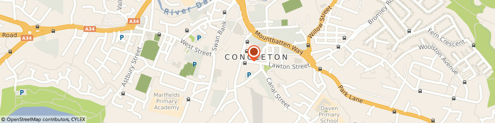 Route/map/directions to NatWest - CONGLETON, CW12 1BE Congleton, 46 High Street