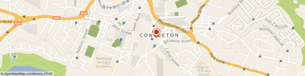 Route/map/directions to Barclays Bank, CW12 1BQ Congleton, 31 High Street