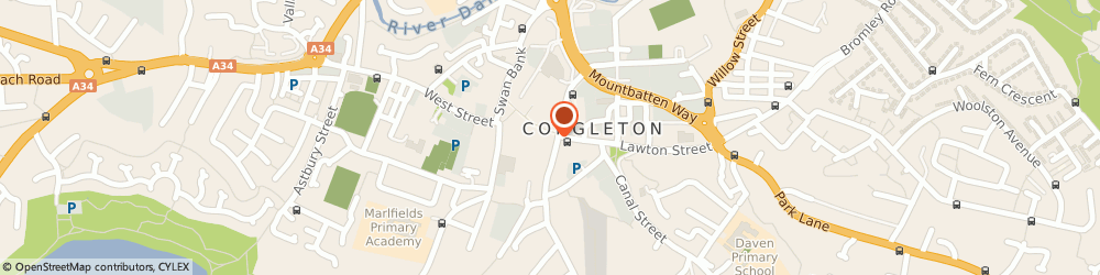 Route/map/directions to NatWest - CONGLETON ATM, CW12 1BB Congleton, 56 High Street