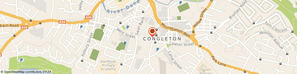 Route/map/directions to SUPERDRUG - Congleton, CW12 1AU Congleton, 39/41 High Street