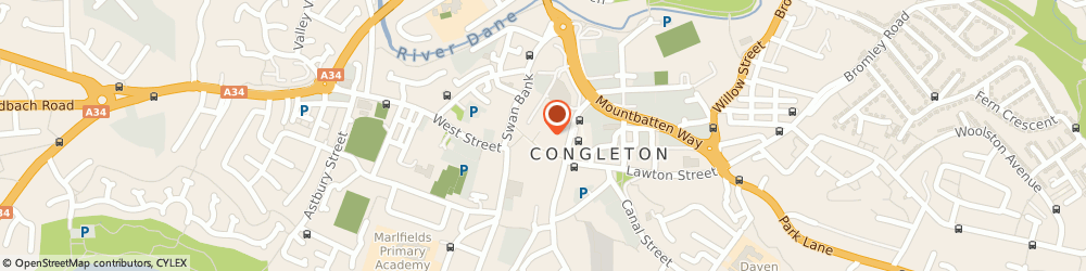 Route/map/directions to Argos Stores, CW12 1XD Congleton, 7-9 The Bridestone Centre