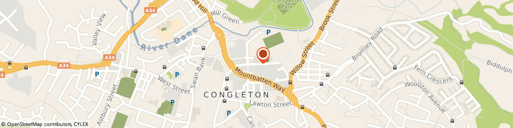 Route/map/directions to NORTEK TECHNICAL FURNITURE SYSTEMS LIMITED, CW12 1DT Congleton, Century Mill Worrall Street
