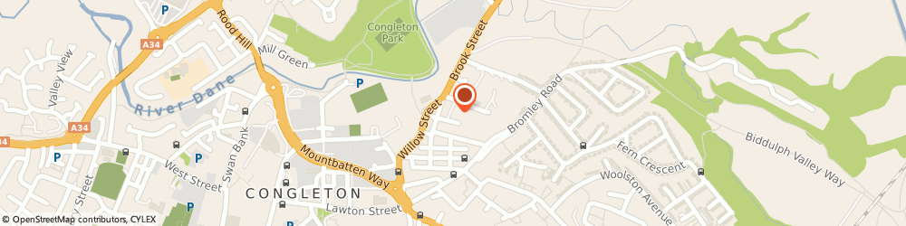 Route/map/directions to Alpha And Street Legal Ltd, CW12 1QU Congleton, Unit 1 Cooper Street