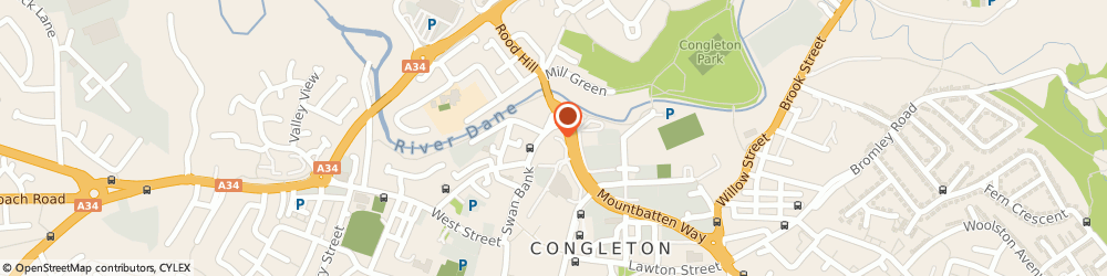 Route/map/directions to Ats Euromaster Congleton, CW12 1DJ Congleton, Brookside