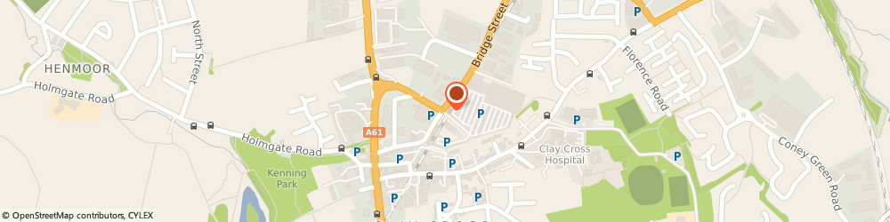 Route/map/directions to Crystal Upholstery, S45 9NU Chesterfield, Unit 15 Midway business Centre