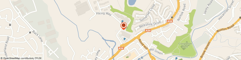Route/map/directions to National Tyres and Autocare, CW12 1LJ Congleton, 4 Barn Rd