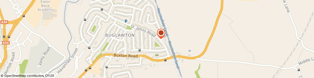 Route/map/directions to R a d Plant, CW12 2EJ Congleton, 150 St Johns Road