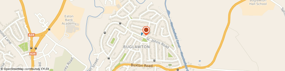 Route/map/directions to McColl's, CW12 2BA Congleton, St Johns Road