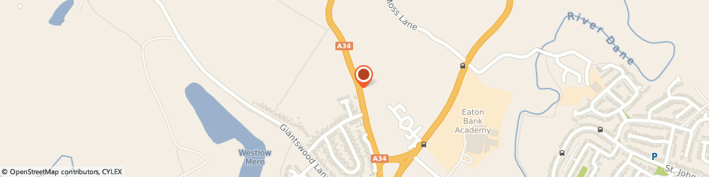 Route/map/directions to Whitehursts, CW12 2HT Congleton, 69, MANCHESTER ROAD