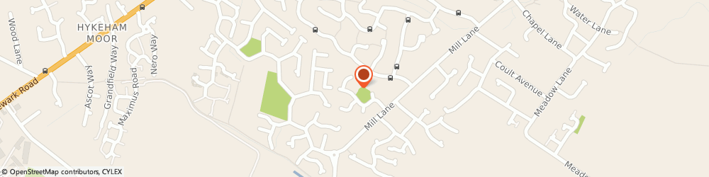 Route/map/directions to Ambassador Homecare Limited, LN6 9HH Lincoln, 2 Dorchester Way, North Hykeham