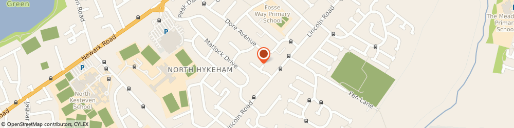 Route/map/directions to System Servicing, LN6 8TU Lincoln, 2 Bakewell Mews