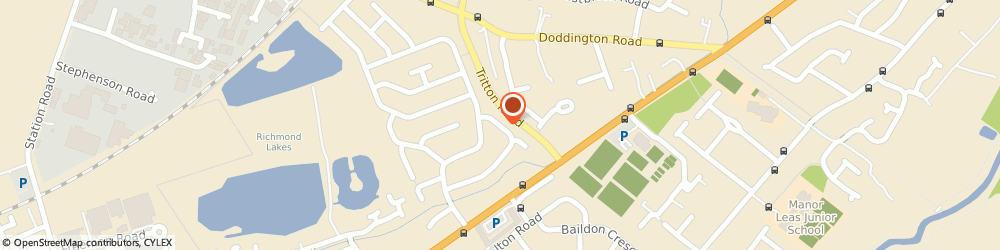 Route/map/directions to Robert Clipson, LN6 8TN Lincoln, 36, WAVERLEY AVENUE