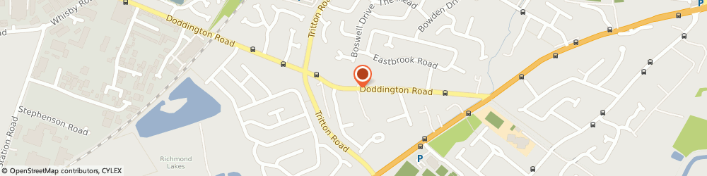 Route/map/directions to Lincoln Locksmiths Services, LN6 7EU Lincoln, 112 Doddington Rd