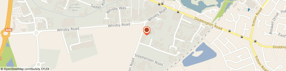 Route/map/directions to Golding Young & Mawer, LN6 3QY Lincoln, Station Rd, Thos Mawer House