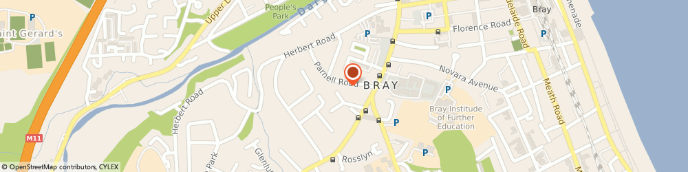 Route/map/directions to SHEPHERD SECURITY LIMITED, A98 Bray, Gables Parnell Road