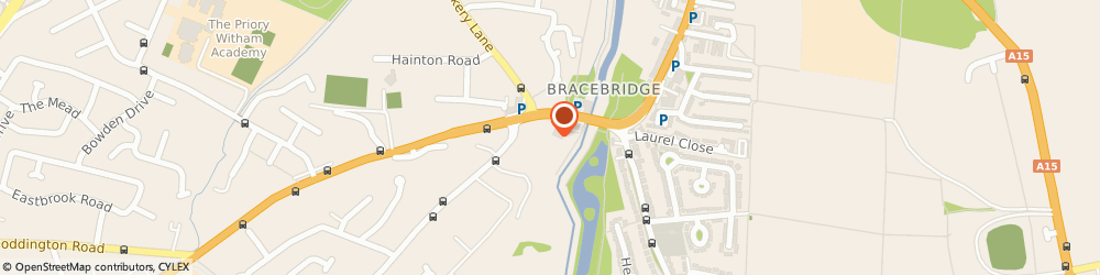 Route/map/directions to SPAR Euro Garage Lindum, LN6 8RP Lincoln, 246 Newark Road