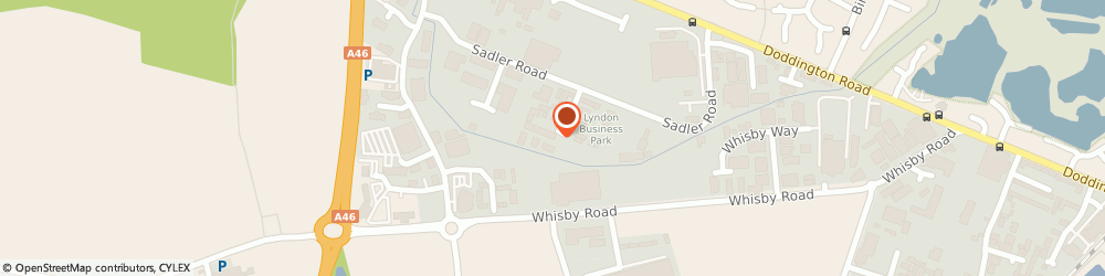 Route/map/directions to Lincoln Windows, LN6 3RU Lincoln, Farrier Rd, Unit 23, Lyndon Business Park
