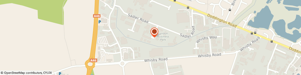 Route/map/directions to The Sign Centre, LN6 3RU Lincoln, 1 Farrier Road