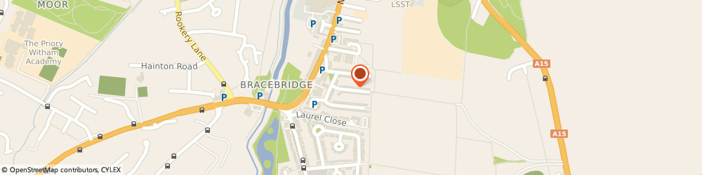 Route/map/directions to Pansy Potters Childcare, LN5 8QX Lincoln, 21 Elder Street