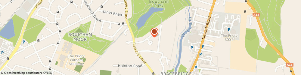 Route/map/directions to A1 Builders & Paving, LN6 7QB Lincoln, 36 Lake View Road