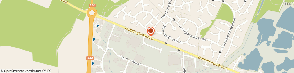 Route/map/directions to H e Lettings LLP, LN6 3LH Lincoln, 1 OAKWOOD ROAD, DODDINGTON ROAD