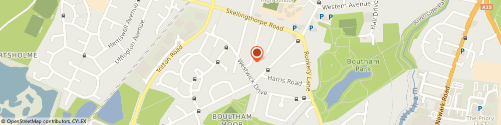 Route/map/directions to TM Garden Services, LN6 7QS Lincoln, 26 Highfield Ave