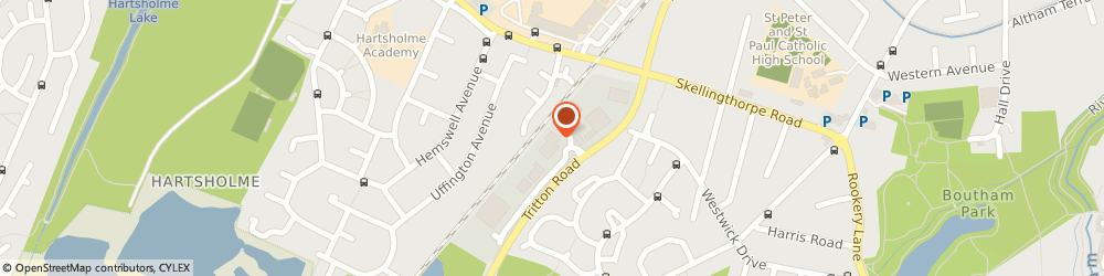 Route/map/directions to Pentagon Peugeot Lincoln, LN6 7QY Lincoln, 8 Tritton Road