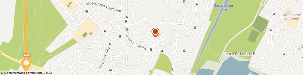 Route/map/directions to Bastow Paul, LN6 3PN Lincoln, 8 Goxhill Cl