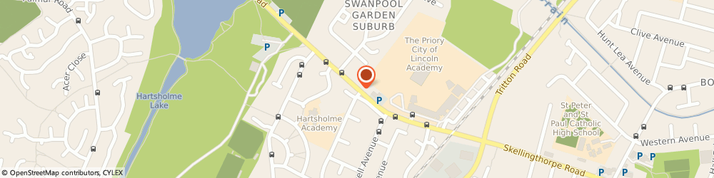 Route/map/directions to Lakeside Fish Bar, LN6 0ET Lincoln, 239B, Skellingthorpe Rd