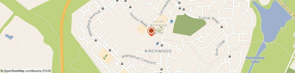 Route/map/directions to Birchwood Fish Bar, LN6 0QB Lincoln, Unit 7, Jasmin Rd