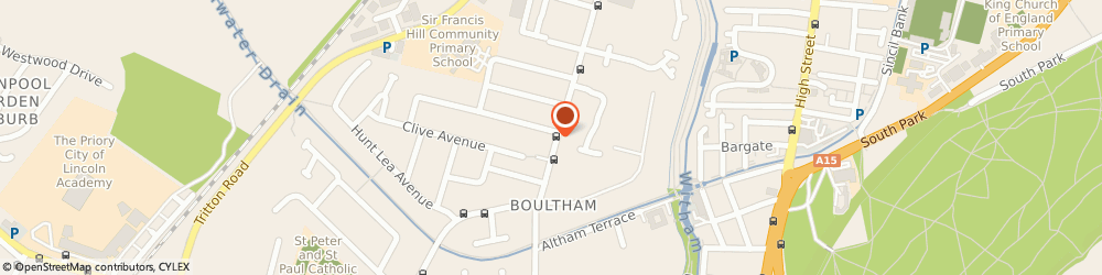 Route/map/directions to Red Hairdressing, LN6 7TQ Lincoln, 108, Boultham Park Rd