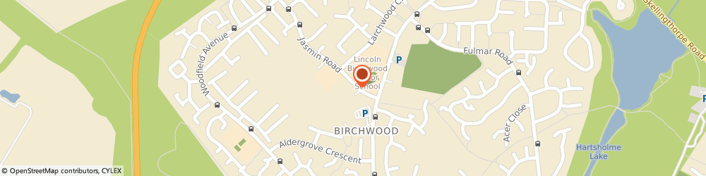 Route/map/directions to Lincolnshire Co-op Pharmacy Birchwood Pharmacy, LN6 0QQ Lincoln, 90 Jasmin Road