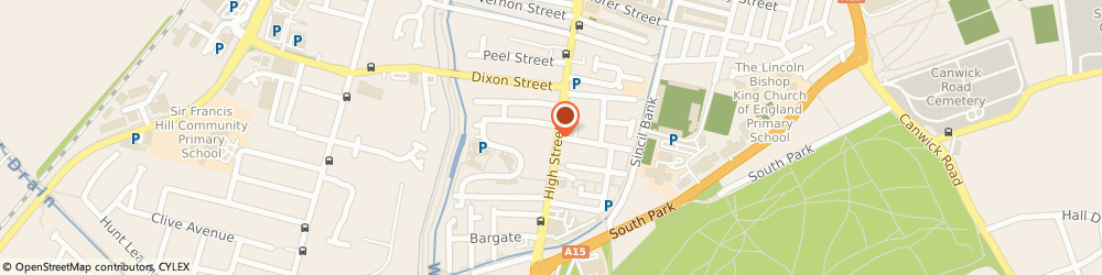 Route/map/directions to Scullion the Barber, LN5 8AS Lincoln, 41 High Street