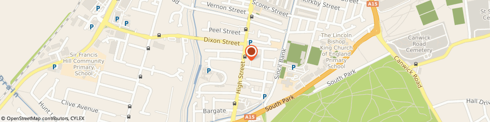 Route/map/directions to Castlegate Indian Restaurant, LN5 8HZ Lincoln, 445-446 High Street