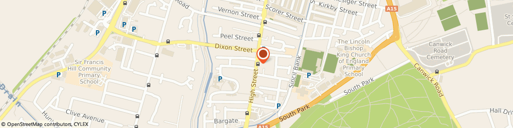 Route/map/directions to The Viceroy, LN5 8HZ Lincoln, 443 HIGH STREET