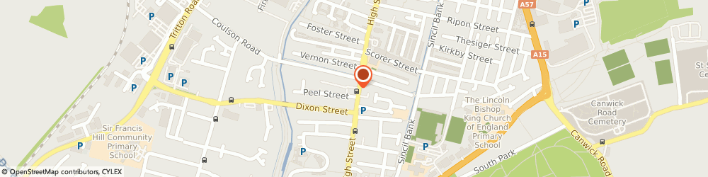 Route/map/directions to P.C AUTOMOTIVE, LN5 8AA Lincoln, 76 High Street