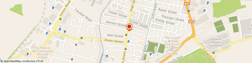 Route/map/directions to Heart city barbers, LN5 8AA Lincoln, 81 High St