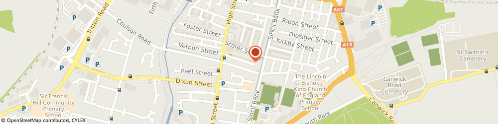Route/map/directions to Plumber Lincoln 0800 085 7586, LN5 7TA Lincoln, 50 PENNELL STREET